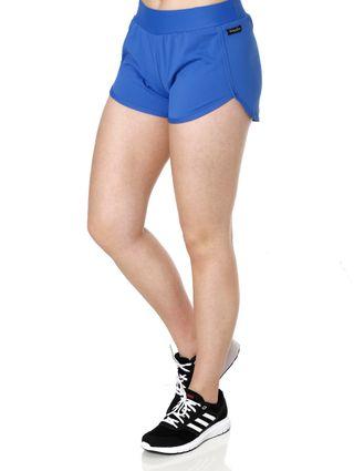 Short Esportivo Feminino Azul