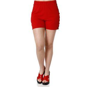Short Feminino Autentique Vermelho M