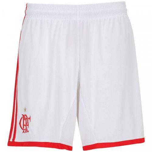 Short Flamengo Adidas Branco 2013 - P
