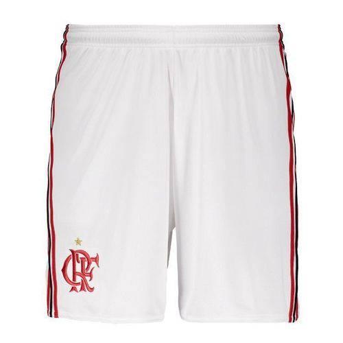 Short Flamengo Adidas I 2017 2018 Branco BK7094