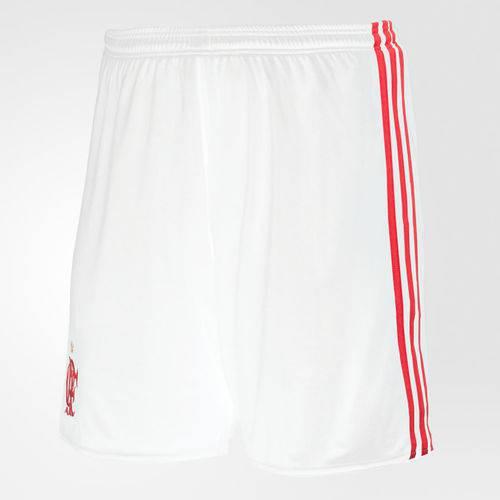 Short Flamengo Adidas II 2017 2018 Futebol Branco CE5095