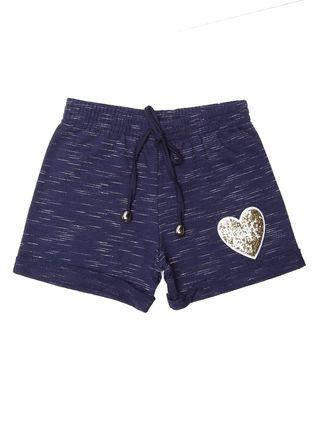 Short Infantil para Menina - Azul Marinho