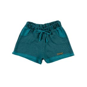Short Infantil para Menina - Verde 4