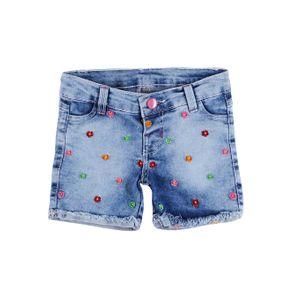 Short Jeans Feminino Bimbu's Azul 2