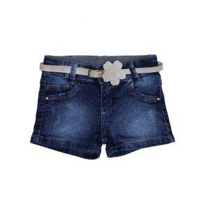 Short Jeans Infantil para Menina - Azul 2