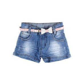 Short Jeans Infantil para Menina - Azul 3