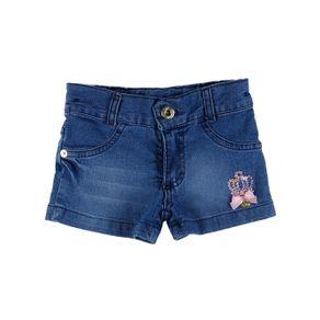 Short Jeans Infantil para Menina - Azul Short Jeans Feminino Petit Tathi Azul 2