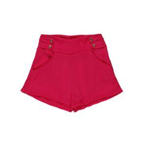 Short Juvenil para Menina - Rosa 12