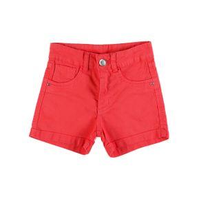 Short Sarja Juvenil para Menina - Coral 10