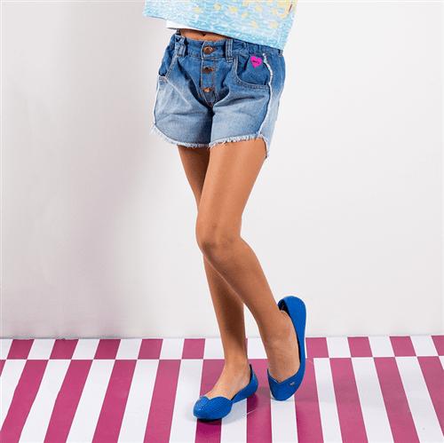 Short Sorvetinho Gostoso Jeans/10