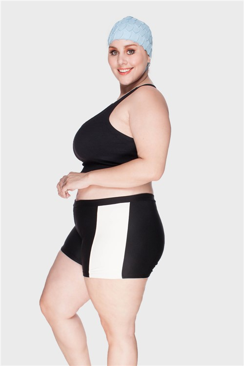 Shortkini Plus Size Cru-48