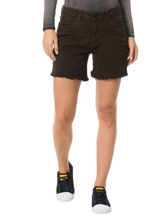 Shorts Color Calvin Klein Jeans Five Pockets Preto - 36