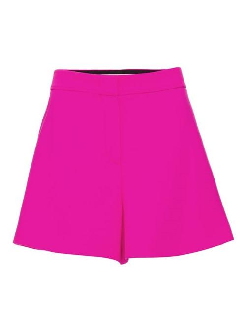 Shorts Curto Fluo Rosa Tamanho 42