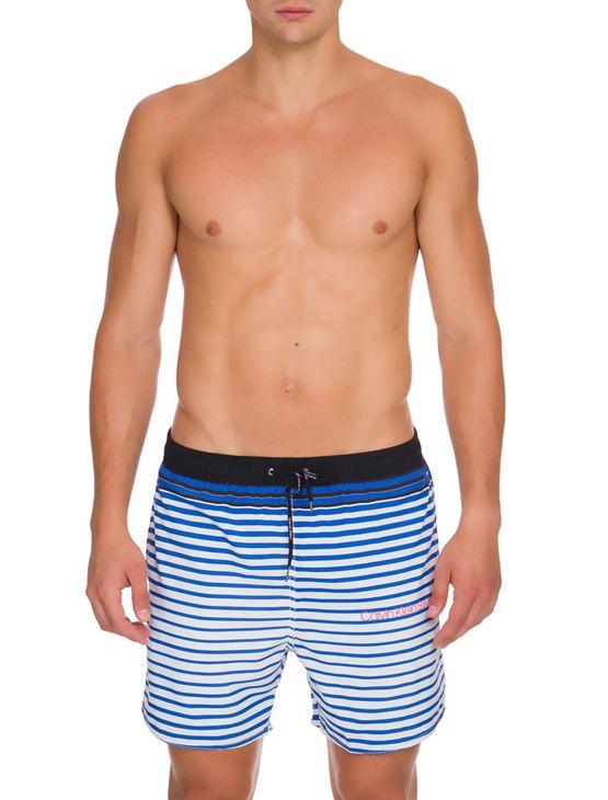 Shorts Dagua Ckj Estampado - Azul - P