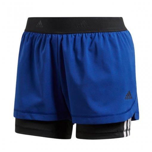 Shorts Feminino Adidas 2 em 1 Cz7942