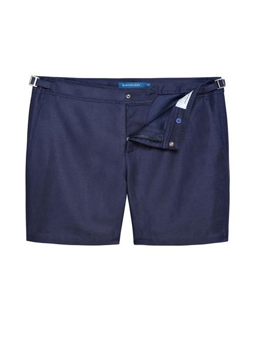 Shorts Flamands Cotolin de Algodão Azul Marinho Tamanho 36