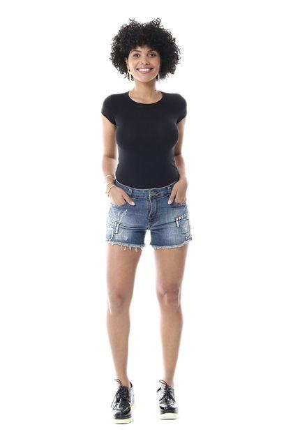 Shorts Jeans Feminino - 255662 36