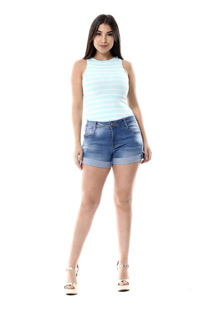 Shorts Jeans Feminino - 256088 36