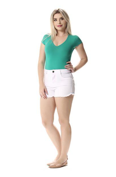 Shorts Jeans Feminino - 257843 40