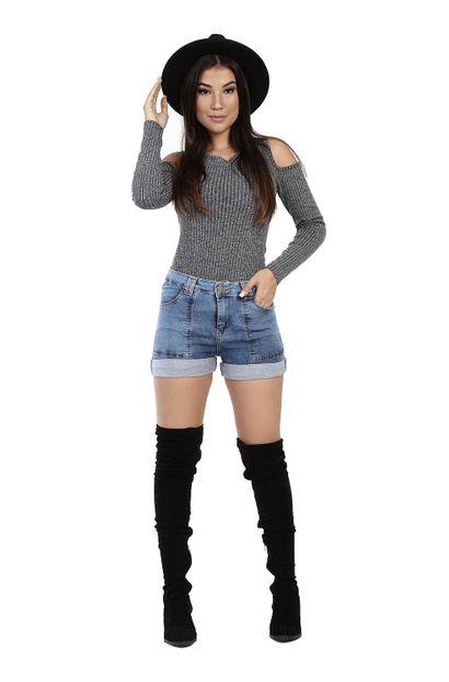 Shorts Jeans Feminino - 260874 36