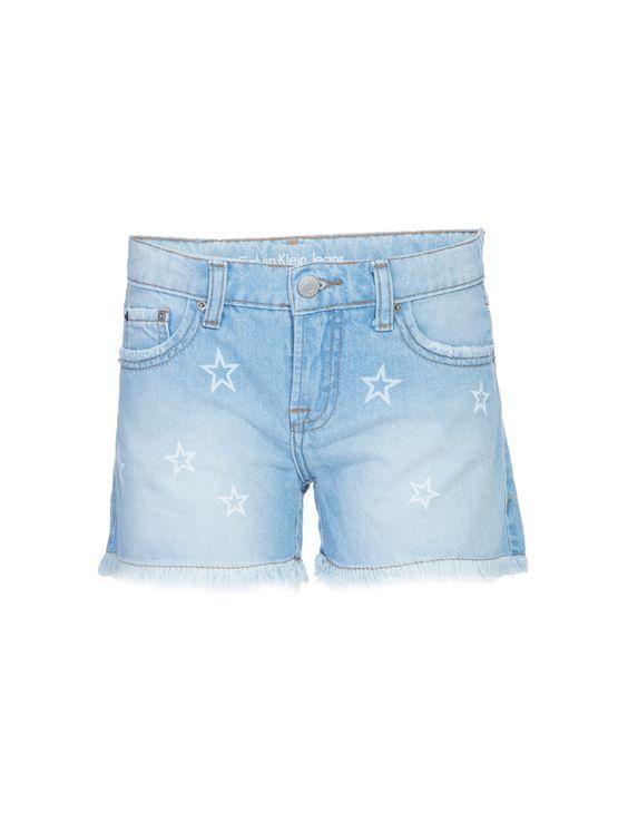 Shorts Jeans Five Pockets Estrelas - 2