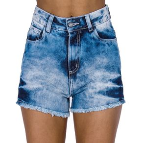 Shorts Jeans Lavagem 3D Handbook 36