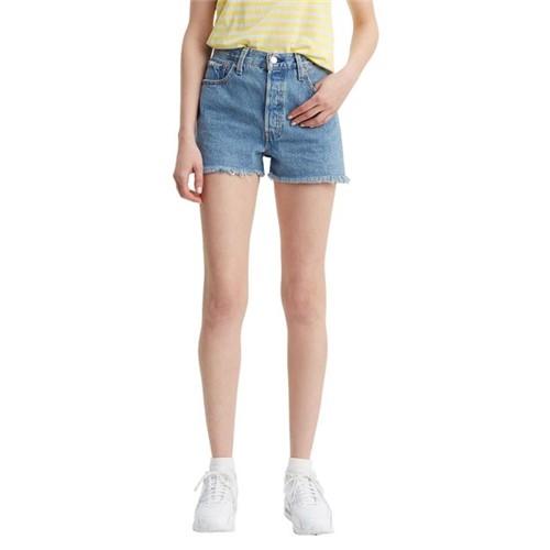 Shorts Jeans Levis 501 High Rise - 32