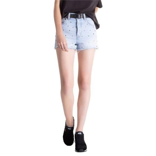 Shorts Jeans Levis Ribcage - 27