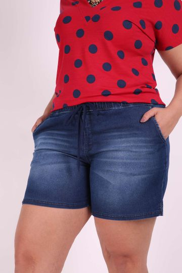 Shorts Jeans Plus Size G