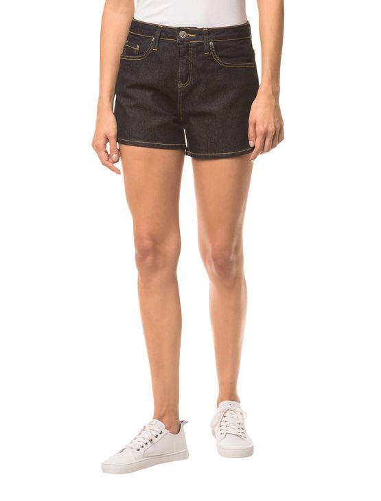 Shorts Jeans Pockets - Marinho - 36