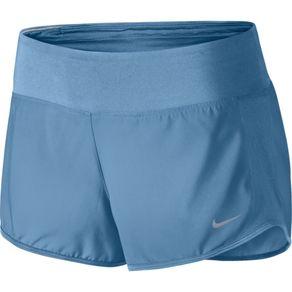 Shorts Nike Crew Azul Feminino M