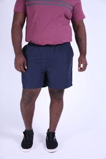 Shorts Plus Size Tactel Azul Marinho P