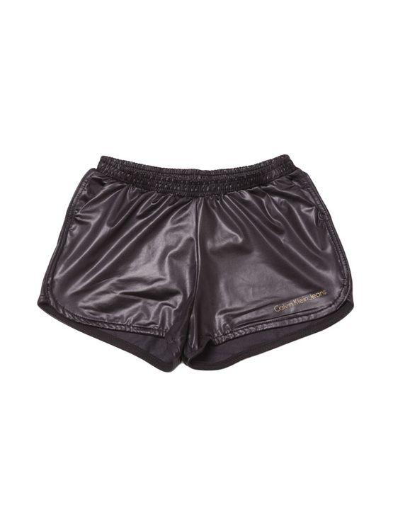 Shorts Saia Infantil Calvin Klein Jeans Color Five Pockets Preto - 2