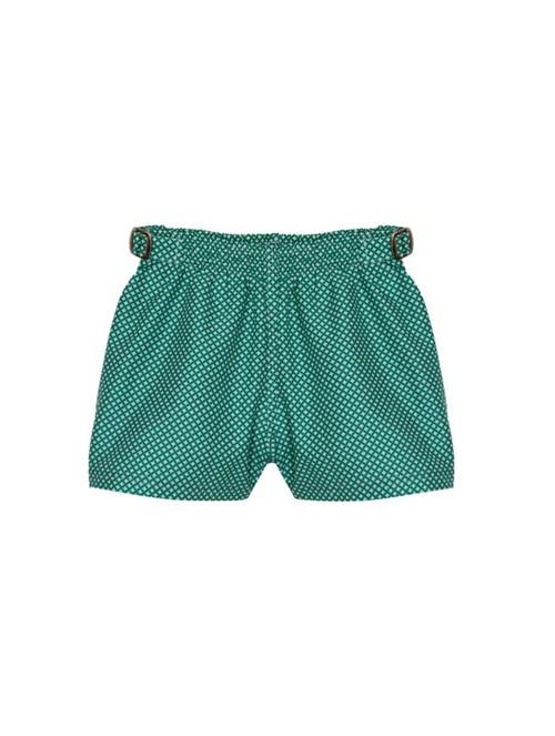 Shorts Shine Estampado Verde Tamanho 1