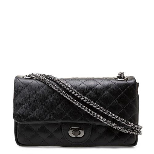 Shoulder Bag Couro Floater - Preto UN