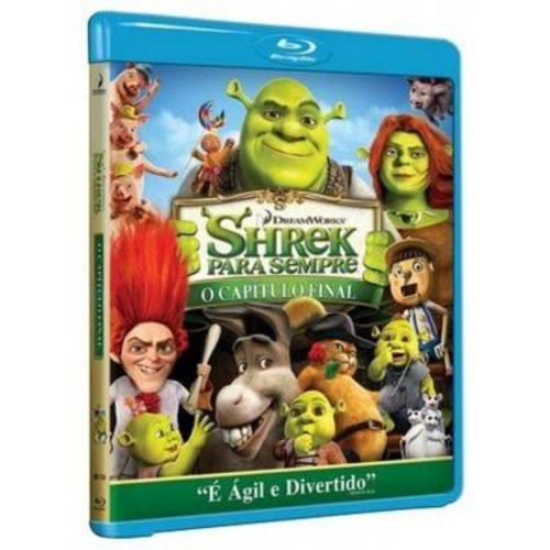 Shrek para Sempre o Capítulo Final - Blu Ray Filme Infantil