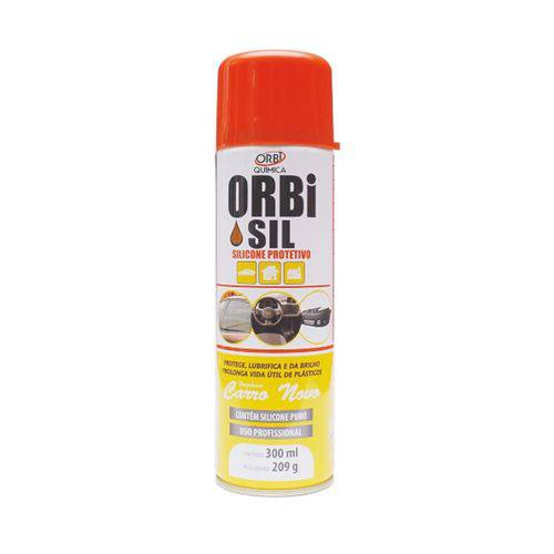 Silicone Spray Protetivo Orbi Sil Carro Novo 300ml