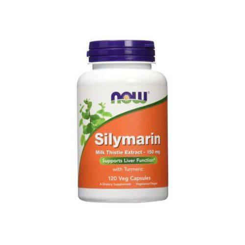 Silymarin 150mg 120 Caps Now Foods Importado