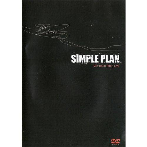 Simple Plan Mtv Hard Rock Live - DVD Rock
