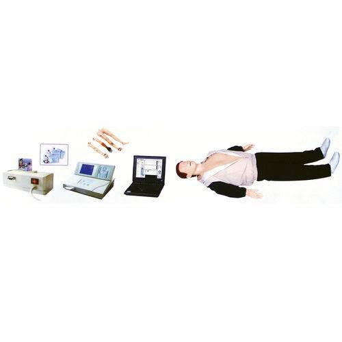 Simulador Avançado para Treino de Rcp com Membros para Trauma e Cartão Ic - Anatomic - Tgd-4400-c