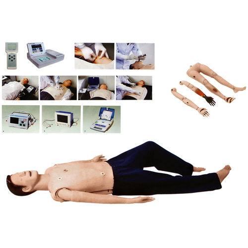 Simulador para Treinamento em Acls com Controle Remoto - Anatomic - Tgd-4025-d