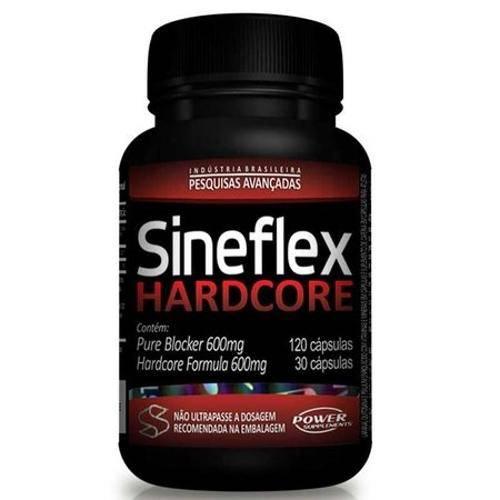 Sineflex Hardcore 150caps + Bcaa Mega-Size-1g 60caps