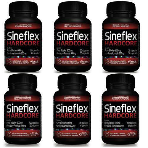 Sineflex Hardcore 6 Unidades - Power Supplements
