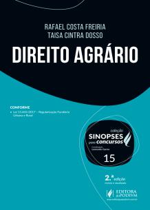 Sinopses para Concursos - V.15 - Direito Agrário (2018)