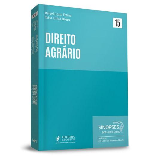 Sinopses para Concursos - Vol 15 - Direito Agrario Juspodivm - 1ed