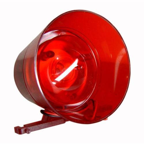 Sirene IPEC Bitonal Audiovisual Vermelha A3098