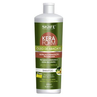 Skafe Keraform - Shampoo de Óleo de Abacate 500ml