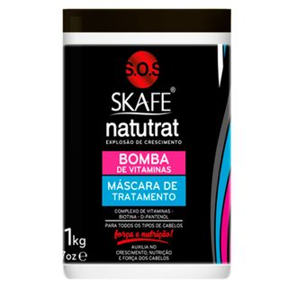 Skafe Naturat SOS Bomba de Vitaminas - Máscara de Tratamento 1Kg