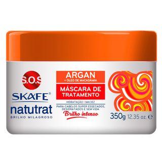 Skafe Naturat SOS Brilho Milagroso - Máscara de Tratamento Argan 350g