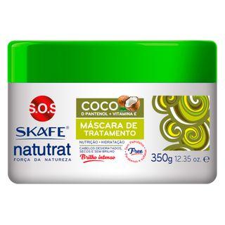 Skafe Naturat SOS Força da Natureza - Máscara de Tratamento Coco 350g
